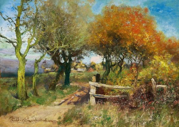 Herbststimmung in Ahrenshoop